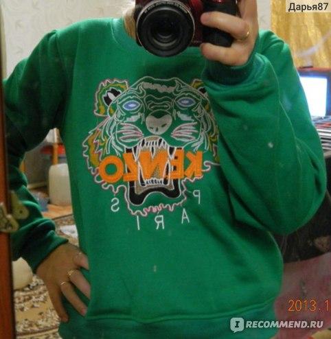 Кофта AliExpress Good quality Level, S,M,L Three Size Autumn Lululemon Women's animal Tiger Embroidery Hoodies Clothing Women Coat Sweatshirt фото