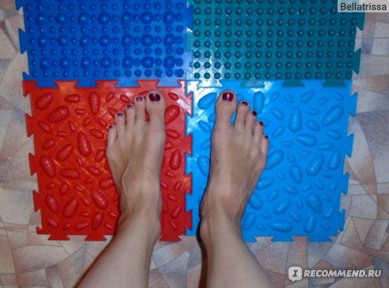 Массажный коврик Орто Шишки фото