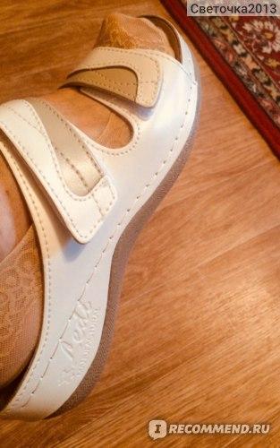 Женские пантолеты Ledi STS DOO арт.412, цвет белый/серый фото