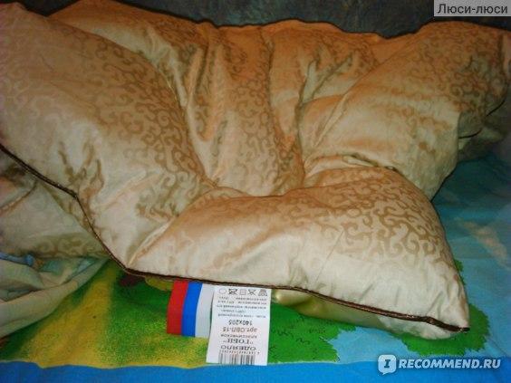 """Одеяло """"Гоби"""" верблюжий пух. Производитель Альвитек Alvitek (Россия) фото"""