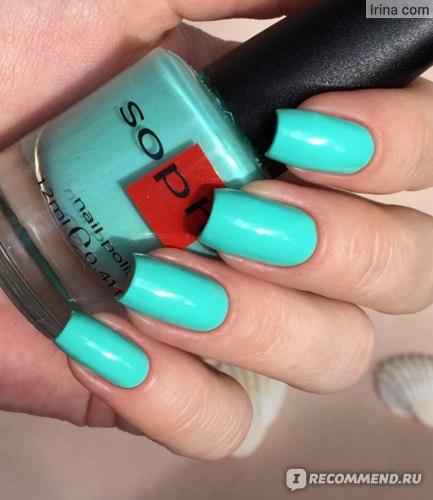 Лак для ногтей Sophin ceramic фото