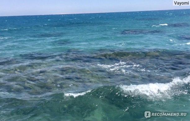Это вид моря с нашего пирса!