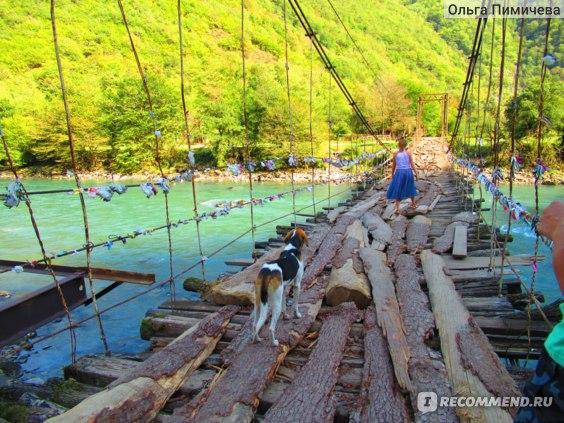 Абхазия, река Бзыбь фото