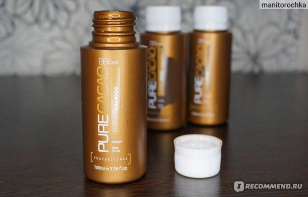 Кератиновое выпрямление BBone Pure Cacao фото