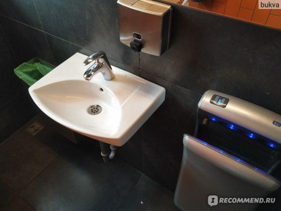 Ресторан Nautholl туалет