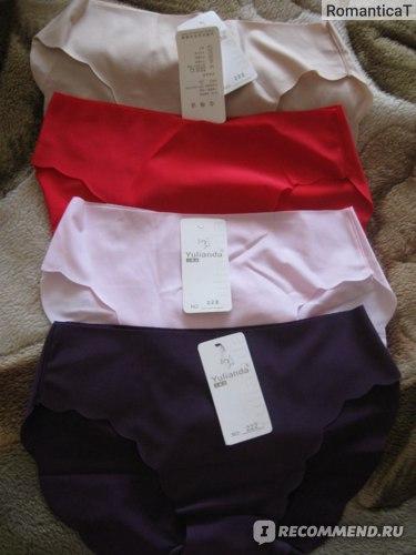 Трусы бесшовные Aliexpress OVO!Shorts women 2014 new panties girl fashion briefs lady underwear sex Lace Ultra-thin No trace Leopard 3pcs/lot free shipping фото