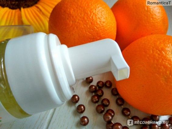 Пенка для умывания  Альпика Очищающая Апельсин фото