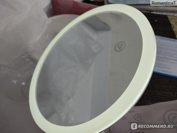 Настольное косметическое зеркало с подсветкой Gezatone LM208 фото