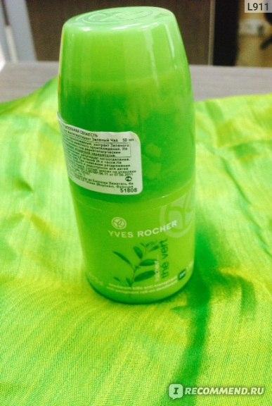 Дезодорант-антиперспирант Ив Роше / Yves Rocher Зелёный чай фото