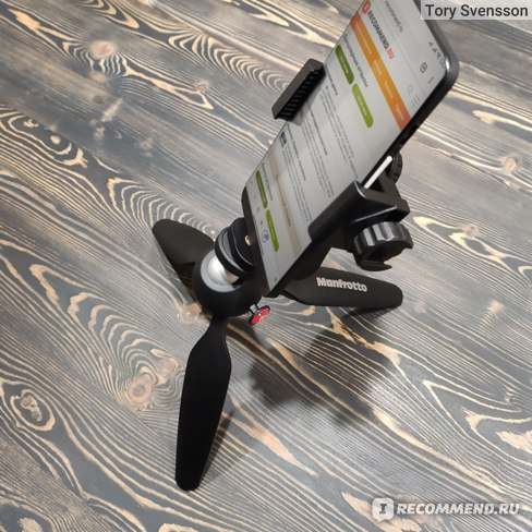 Штатив Manfrotto Pixi Mini Tripod Black (MTPIXI-B) фото