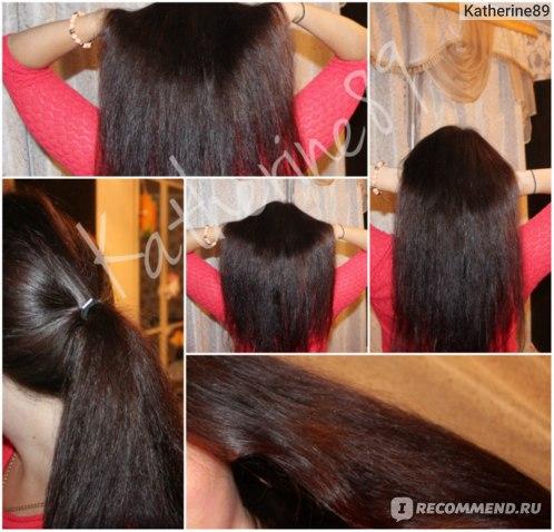 Волосы после)))