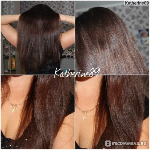 Волосы после утюжка)