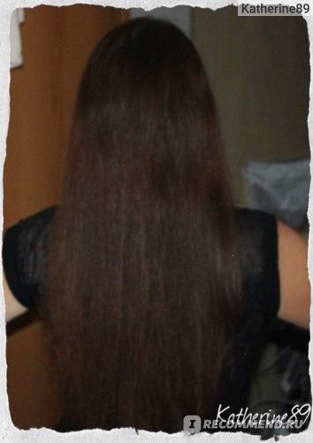 Волосы сразу после фена без вспышки)