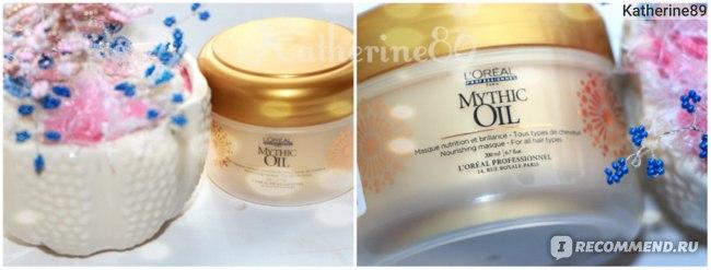 Маска для волос L'Oreal Professionnel Питательная маска для всех типов волос L'Oreal Professionnel Mythic Oil фото