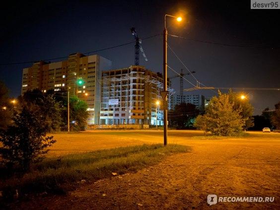 Пример ночной фотографии