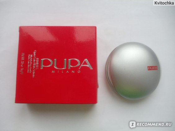 Запеченная пудра Pupa Luminys Baked Face Powder фото