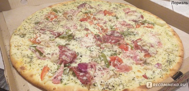 Продукт питания Томато Пицца Мясная фото