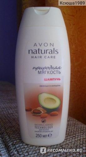 Шампунь Avon Природная мягкость авокадо и миндаль фото