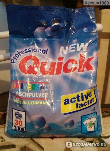 Стиральный порошок Quick  Universal Waschpulver  фото