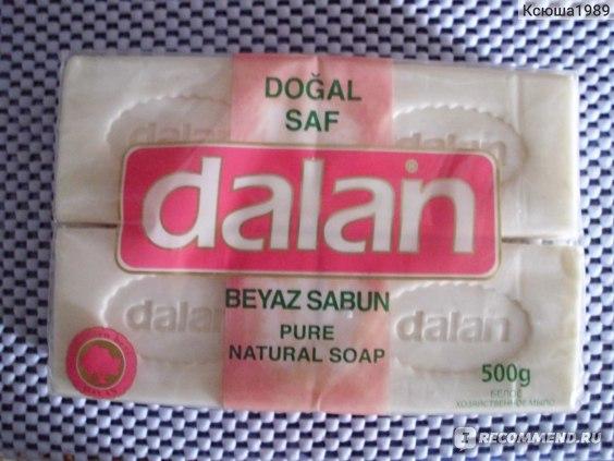 Мыло хозяйственное Dalan Белое  фото