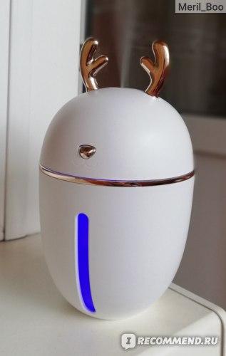 Ультразвуковой увлажнитель воздуха Aliexpress 450ML Air Humidifier USB Aroma Essential Oil Diffuser For Home Office Aromatherapy Humidificador Difusor With nightLight Lamp фото