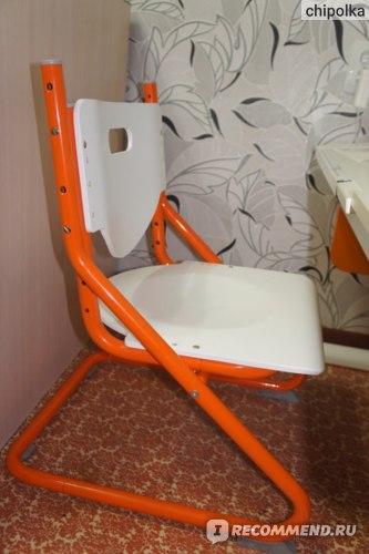 """Парта со стулом Астек-Элара модель """"Лидер"""" (растущая парта) фото"""