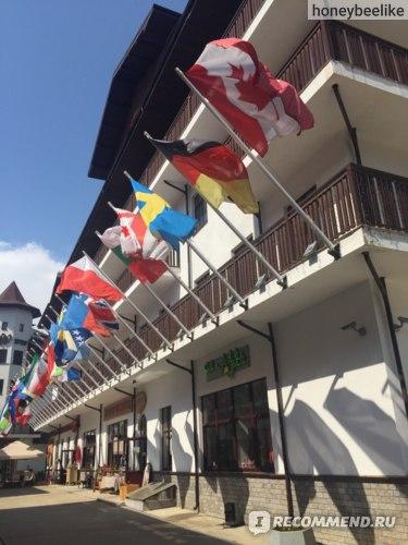 Роза Хутор, Олимпийская деревня, Сочи фото