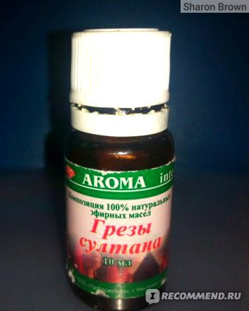 Композиция эфирных масел AROMA Inter Грезы Султана фото