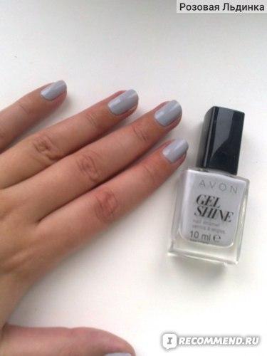 Лак для ногтей Avon Gel Shine фото