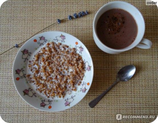 Десерт миллионера - гречка с молоком