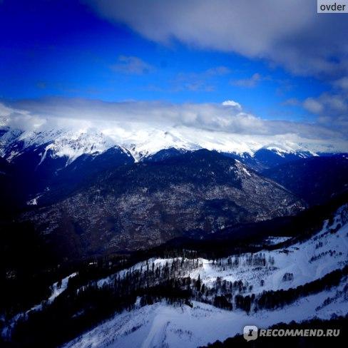 Красивые панорамы Кавказского хребта