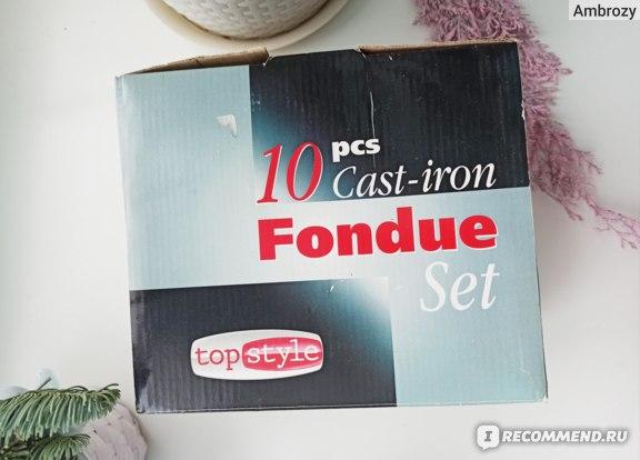 Набор для фондю (фондюшница) Top stile 10 предметов арт. 22022  фото
