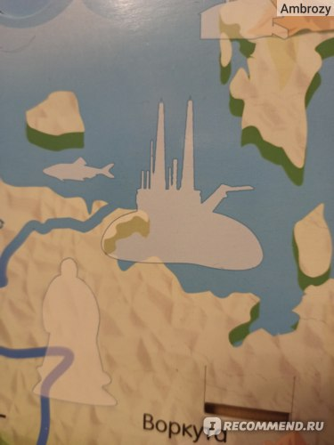 DeAgostini Моя Страна Собери Карту России (Ашет Коллекция) фото