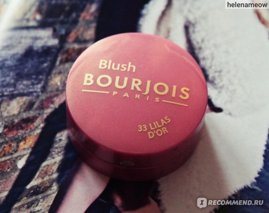Румяна Bourjois Little round pot blush  фото