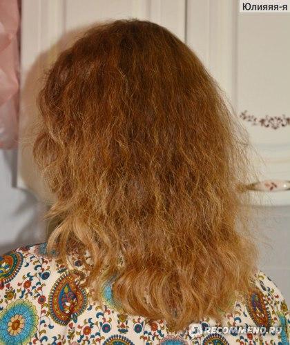 Шампунь придаёт дополнительный объём волосам