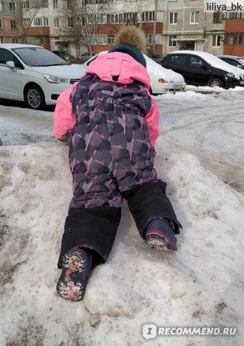 Детский зимний комбинезон Oldos Камо фото