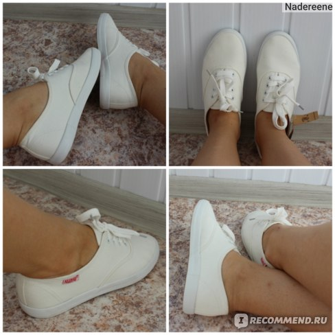 Как убрать желтые пятна с белых кроссовок после стирки фото