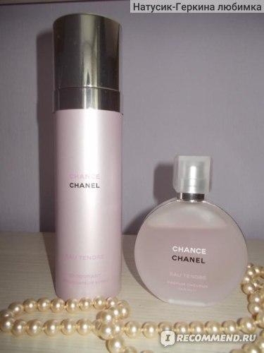 Chanel парфюмированная дымка для тела Chance Eau Tendre фото