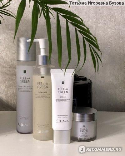 Пенка для умывания Cellmiin Feel-A-Green Cleanser  для чувствительной и сухой кожи фото