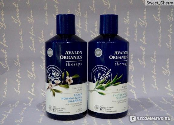 Шампунь от перхоти Avalon Organics Tea tree mint therapy scalp normalizing shampoo