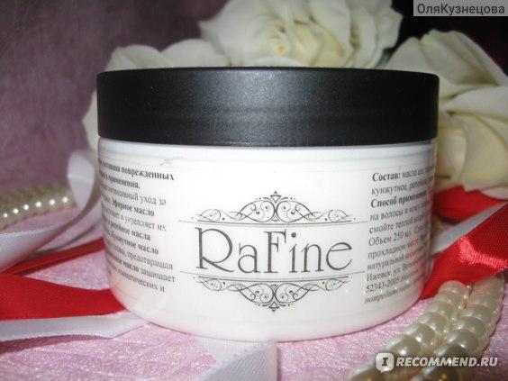 Крем-маска для восстановления структуры волос RaFine фото