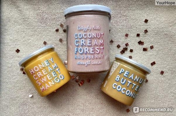 Крем-Мёд Grizzly Nuts Манго фото