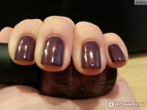 Лак для ногтей OPI The Holland Collection Весна 2012 фото