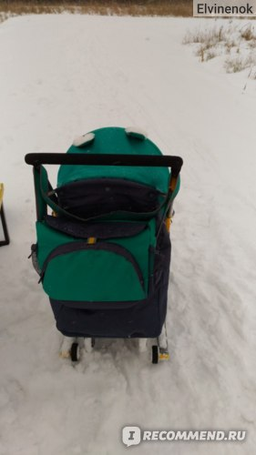 Санки - коляска Ника Детям 7-2 фото