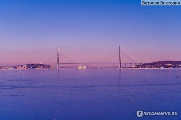Вид на Русский мост