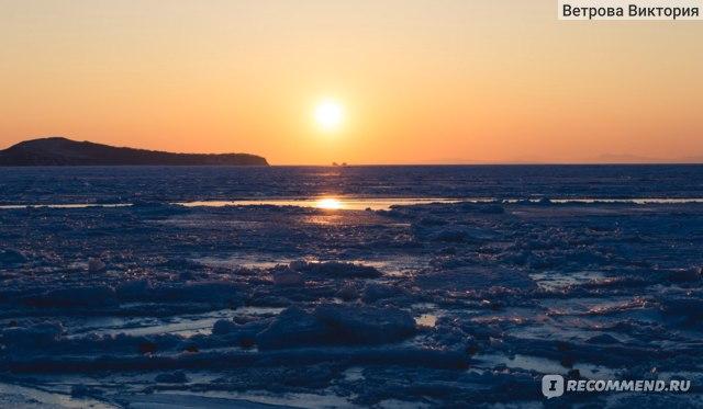 Амурский залив зимой.