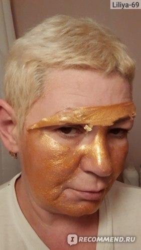 "Золотая Маска-пленка Skinlite Gold ""Обновление кожи"" фото"