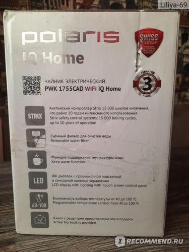 Polaris PWK 1755CAD WIFI IQ Home