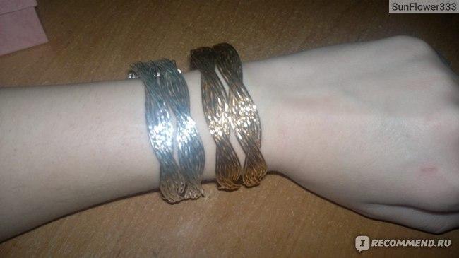 Браслет Buyincoins  Braided Twist Hemp Weaving Bangle Bracelet Adjustable фото