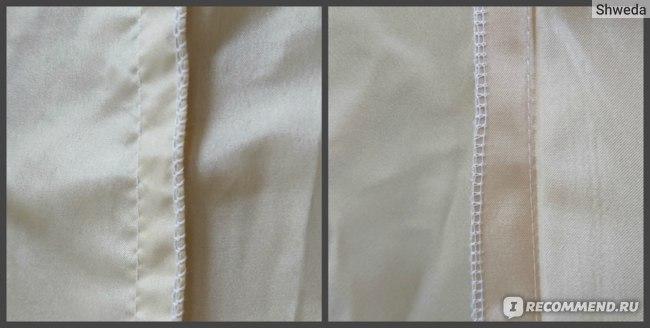 Швы с внутренней стороны юбки